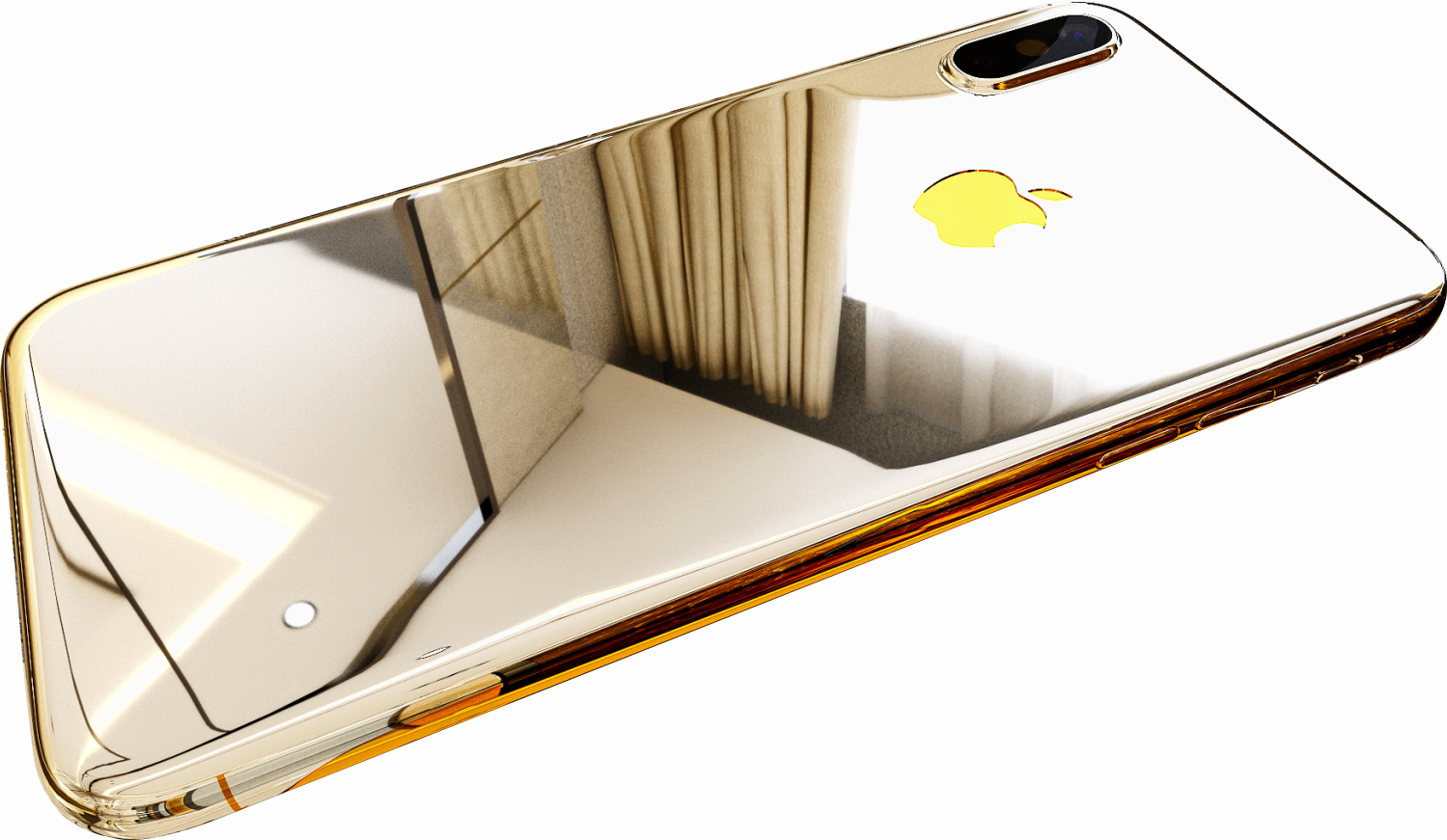 Купить iPhone Xs Gold White 24k (золото)