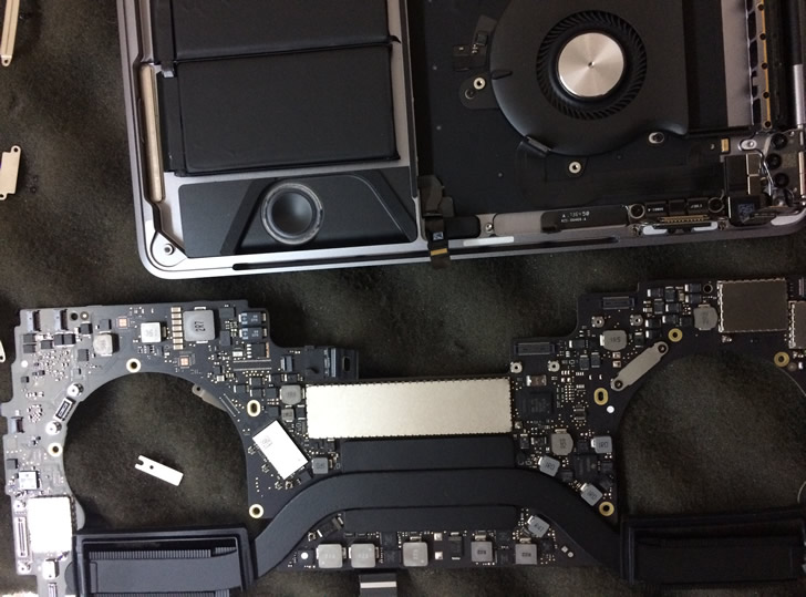 MacBook Pro A1706 Замена SSD Днепр